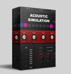 Amplifire - 'Acoustic simulation' pack