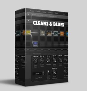 Axe-Fx II - 'Cleans & Blues' pack
