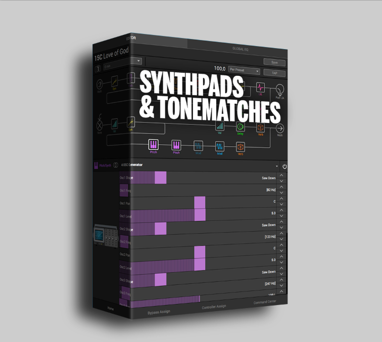 Helix - Synthpads and Tonematches - Fremen Presets