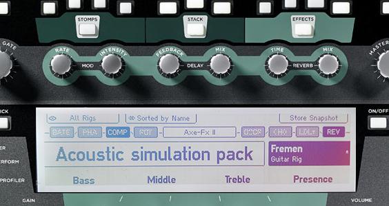 TDR Kemper Acoustic simulation pack (+ bonus) - Fremen Presets