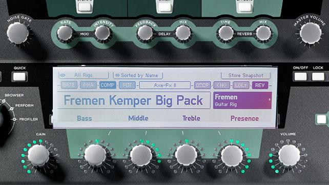TDR Kemper big pack - Fremen Presets